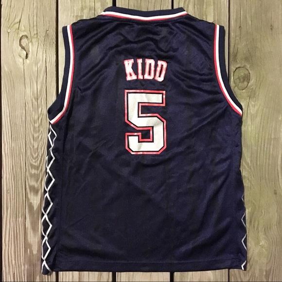 2a11cc8865e adidas Shirts & Tops | New Jersey Nets Jason Kidd No 5 Jersey | Poshmark